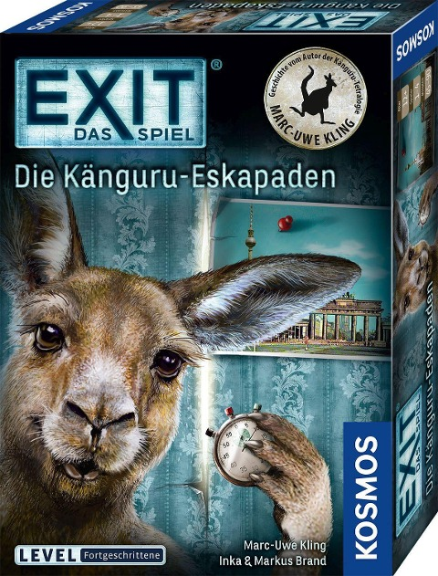 EXIT - Die Känguru-Eskapaden - Inka Brand, Markus Brand, Marc-Uwe Kling