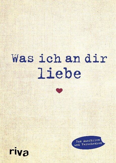 Was ich an dir liebe - Alexandra Reinwarth