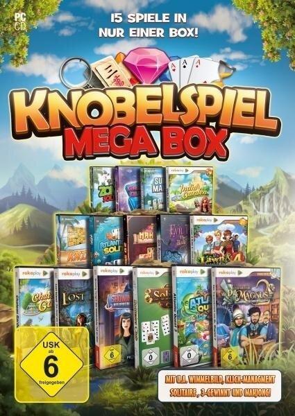 rokaplay - Knobelspiel Mega Box. Für Windows Vista/7/8/8.1/10 -