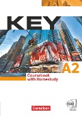 Key. Europäischer Referenzrahmen: A2 Kursbuch - Carole Eilertson