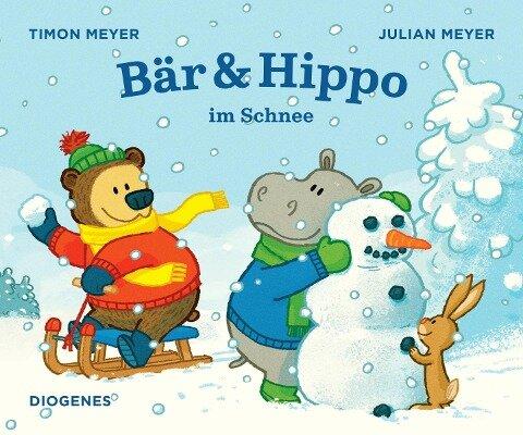 Bär & Hippo im Schnee - Timon Meyer