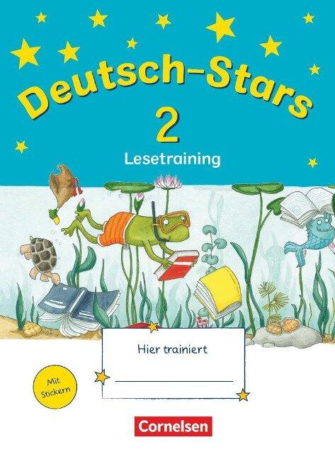 Deutsch-Stars 2. Schuljahr. Lesetraining -