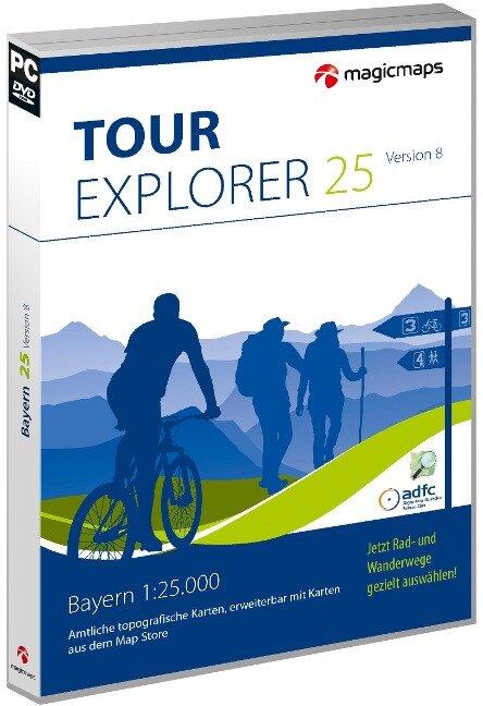 TOUR Explorer 25 Bayern, Version 8.0 -
