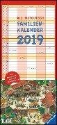 Ali Mitgutsch Familienkalender 2019 - Wandkalender - Familienplaner mit 5 Spalten - Ali Mitgutsch