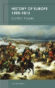 History of Europe 1500-1815 - Carlton Hayes