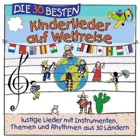 Lamp & Leute - Die 30 besten Kinderlieder auf Weltreise - Simone Sommerland, Karsten Glück, Die Kita-Frösche