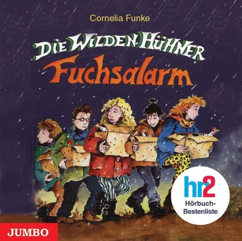 Die wilden Hühner. Fuchsalarm - Cornelia Funke