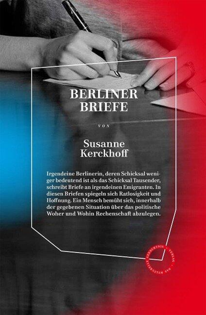 Berliner Briefe - Susanne Kerckhoff