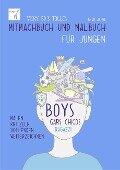Vicky Bo's tolles Mitmachbuch und Malbuch für Jungen. Ab 6 bis 10 Jahre - Vicky Bo