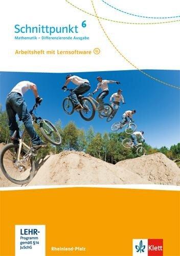 Schnittpunkt Mathematik. 6. Schuljahr. Arbeitsheft mit Lösungsheft und Lernsoftware. Differenzierende Ausgabe. Rheinland-Pfalz -