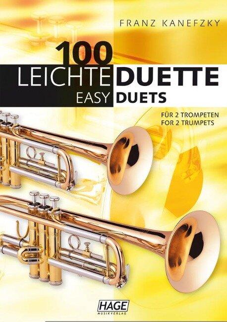 100 leichte Duette für 2 Trompeten -