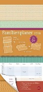 Familienplaner to go Farben - Kalender 2018 -