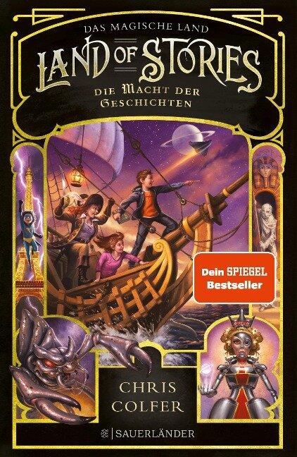 Land of Stories: Das magische Land 5 - Die Macht der Geschichten - Chris Colfer