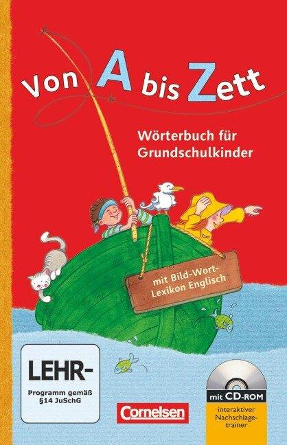 Von A bis Zett: Wörterbuch mit Bild-Wort-Lexikon Englisch und CD-ROM - Gerhard Sennlaub