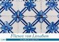 Fliesen von Lissabon (Tischkalender 2019 DIN A5 quer) - Sebastian Rost
