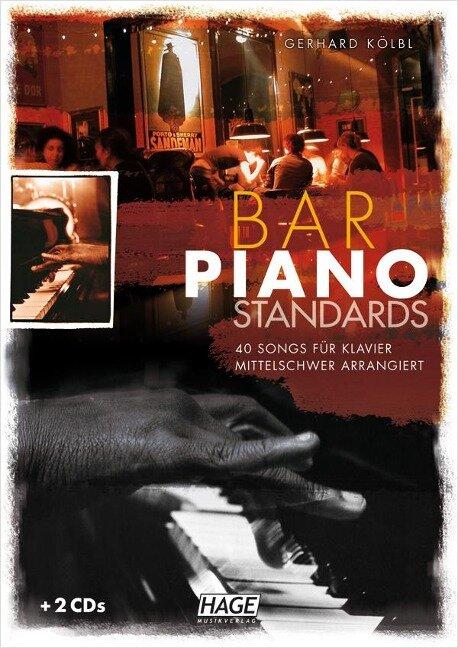 Bar Piano Standards mit 2 CDs - Gerhard Kölbl