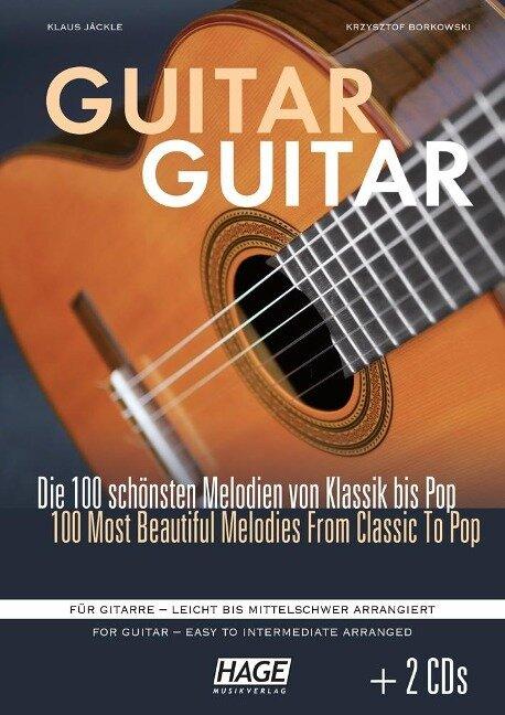 Guitar Guitar (mit 2 CDs) - Klaus Jäckle, Krzysztof Borkowski