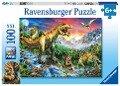 Bei den Dinosauriern. Puzzle 100 Teile XXL -