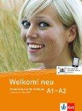 Welkom! Neu A1-A2 Kursbuch + Audio-CD -