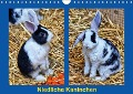 Niedliche Kaninchen (Wandkalender 2018 DIN A4 quer) Dieser erfolgreiche Kalender wurde dieses Jahr mit gleichen Bildern und aktualisiertem Kalendarium wiederveröffentlicht. - K. A. Kattobello