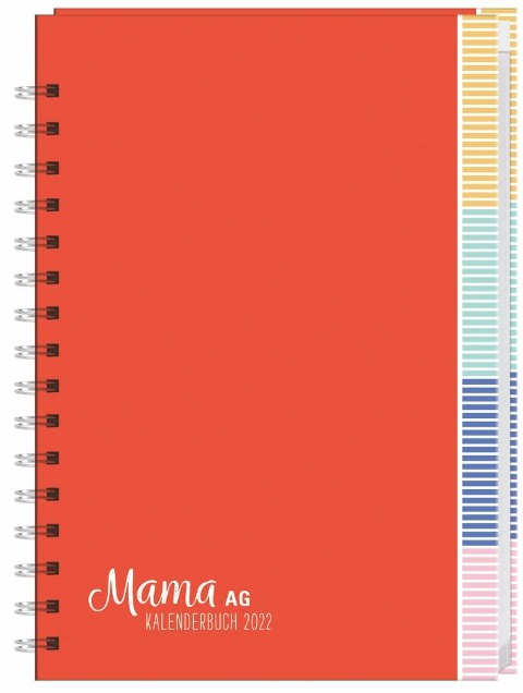 Mama AG Familienplaner Buch A5 2022 -