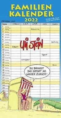 Uli Stein - Familienkalender 2022: Familienplaner mit 5 Spalten - Uli Stein