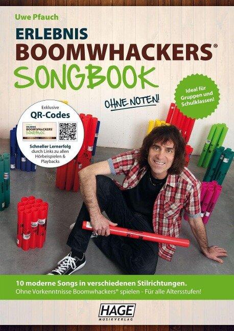 Erlebnis Boomwhackers® Songbook (mit MP3-CD) - Uwe Pfauch