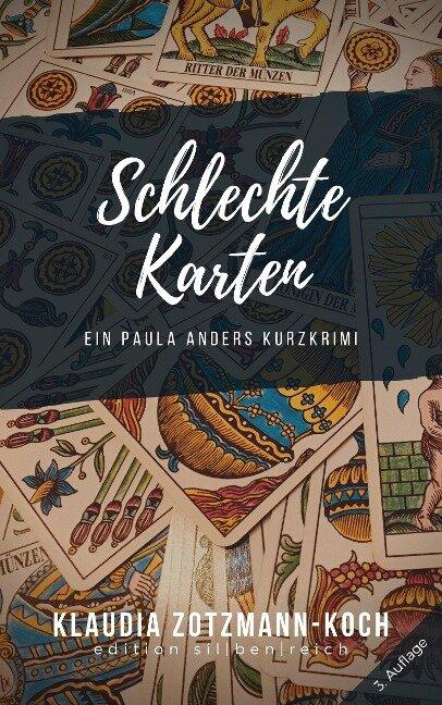Schlechte Karten - Klaudia Zotzmann-Koch