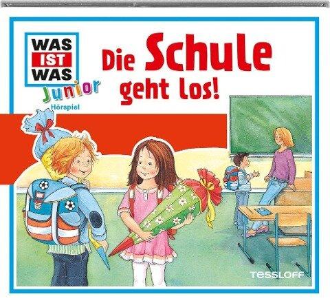 Was ist was Junior Hörspiel-CD: Die Schule geht los! - Butz Buse, Marcus Morlinghaus, Luis-Max Anders