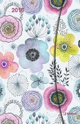 Abstract Flowers 2018 Magneto Diary small -