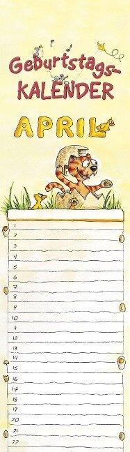 Geburtstagskalender Mini Cartoon immerwährend -