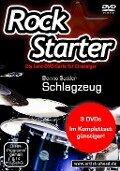 Rockstarter Vol. 1-3 - Schlagzeug (3 DVDs) - Benno Sattler