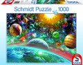 Weltall. Puzzle -