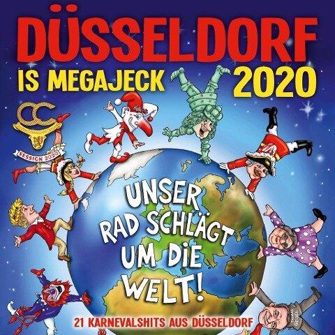 Düsseldorf is megajeck 2020 -