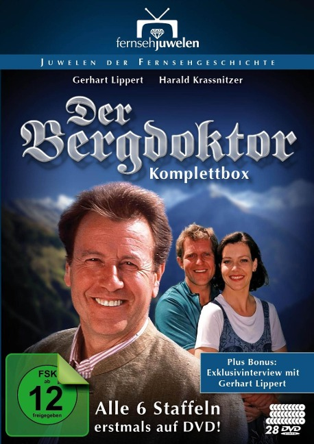 Der Bergdoktor - Komplettbox -