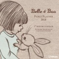 Belle & Boo 2018 Familienplaner -