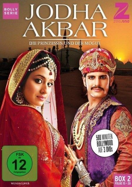 Jodha Akbar - Die Prinzessin und der Mogul (Box 2) (Folge 15-28) -