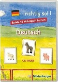 ...richtig so! 1. Deutsch. CD-ROM für Windows ab 98SE -
