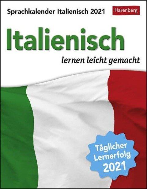 Sprachkalender Italienisch - Kalender 2021 - Tiziana Stillo, Steffen Butz