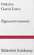 Zigeunerromanzen - Federico Garcia Lorca