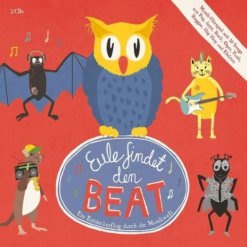 Eule findet den Beat (Musik-Hörspiel) -