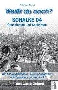 Weißt du noch? Schalke 04 - Friedhelm Wessel