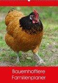 Bauernhoftiere Familienplaner (Wandkalender 2017 DIN A2 hoch) - Kattobello