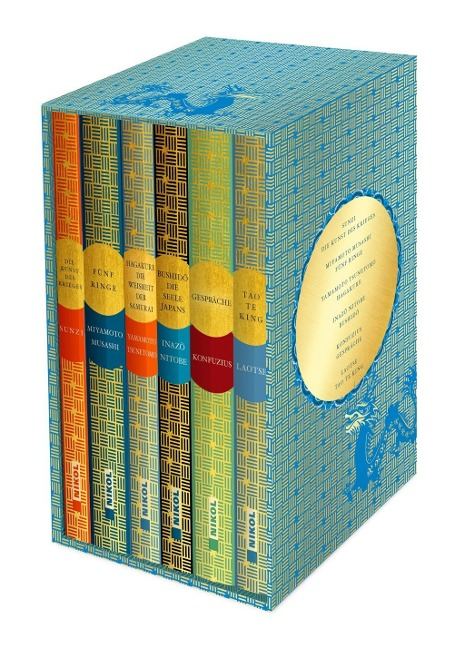 Fernöstliche Klassiker: 6 Bände im Schuber - Sunzi, Miyamoto Musashi, Yamamoto Tsunetomo, Inazo Nitobe, Konfuzius