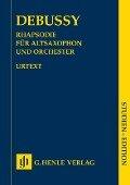 Rhapsodie für Altsaxophon und Orchester - Claude Debussy