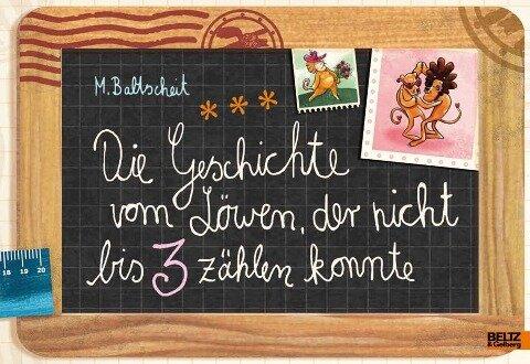 die geschichte vom löwen, der nicht bis 3 zählen konnte: genialokal.de: martin baltscheit: