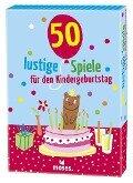 50 lustige Spiele für den Kindergeburtstag -