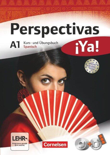 Perspectivas ¡Ya! A1. Kurs- und Arbeitsbuch, Vokabeltaschenbuch - Araceli Vicente Álvarez, Jaime González Arguedas, Martin B. Fischer, Gloria Bürsgens