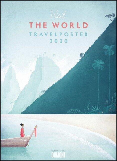 Travelposter 2020 - Reiseplakate-Kalender von DUMONT- Wand-Kalender - Poster-Format 49,5 x 68,5 cm