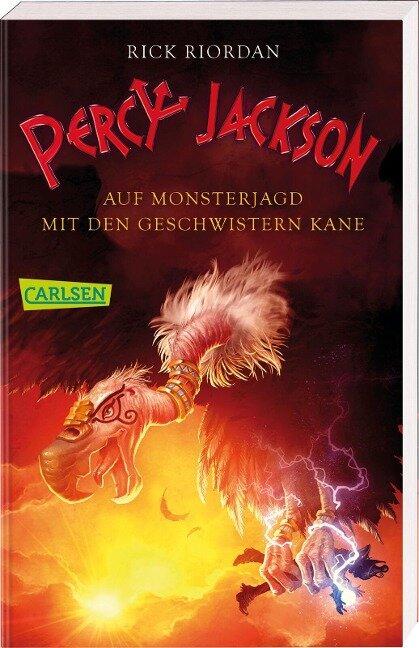 Percy Jackson - Auf Monsterjagd mit den Geschwistern Kane (Percy Jackson) - Rick Riordan